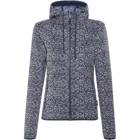 Jack Wolfskin Belleville Jacket Women midnight blue all over